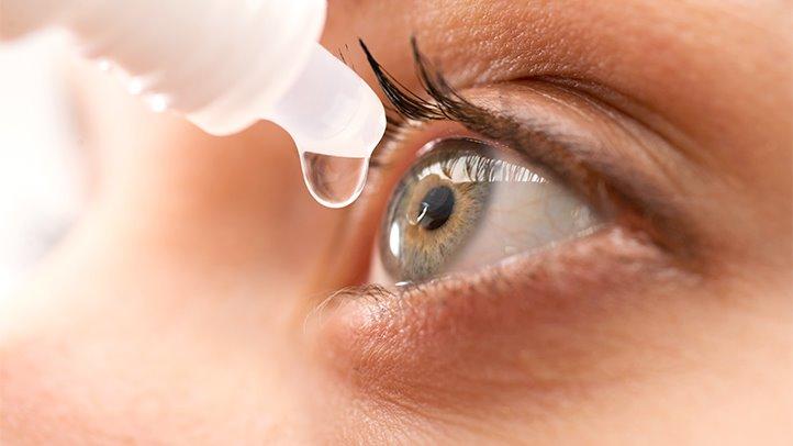 Lubricating dry eyes
